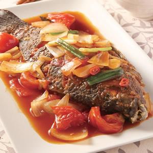 茄汁燒魚(1)