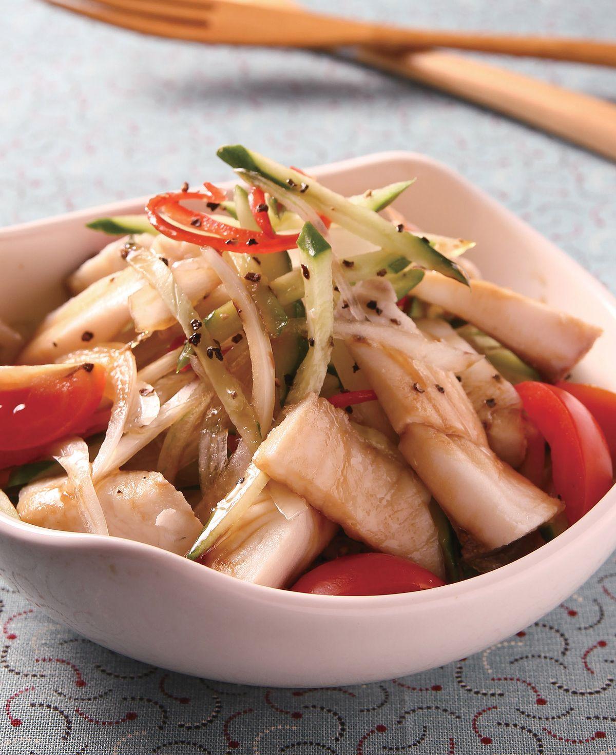 食譜:洋蔥涼拌魚條