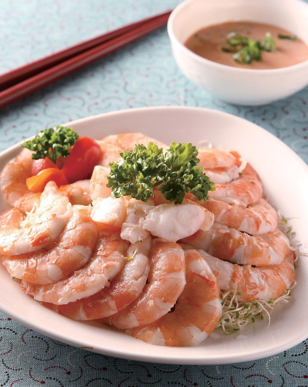 食譜:鮮蝦冷盤