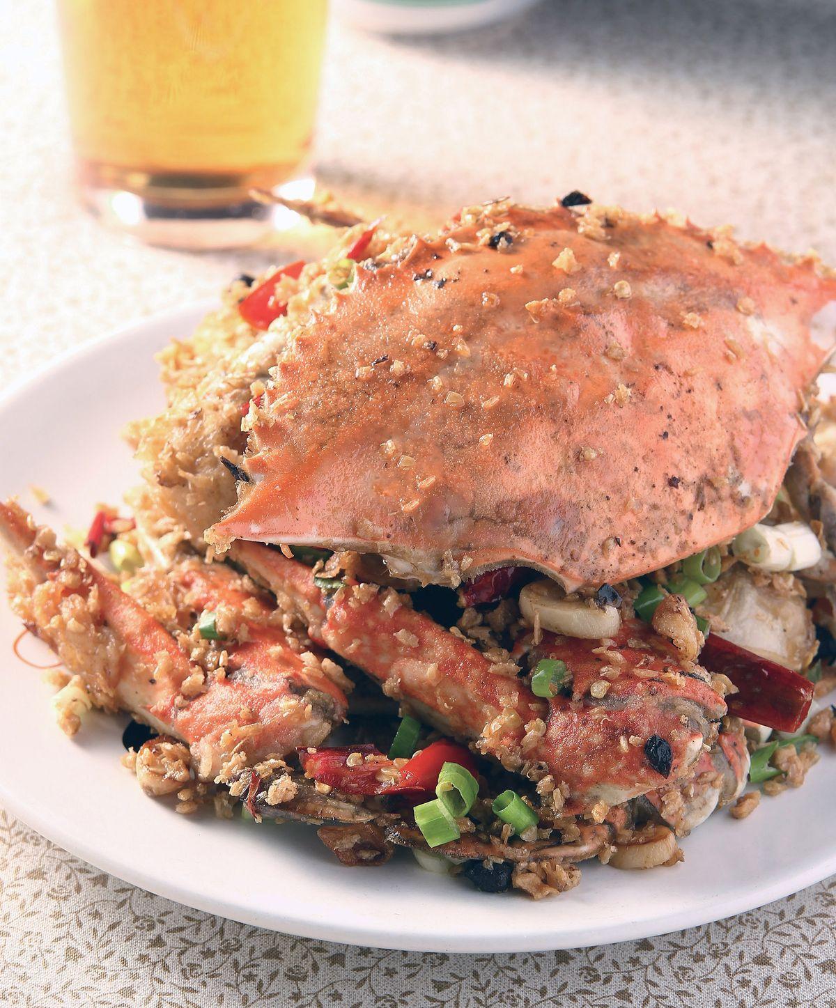 食譜:避風塘炒螃蟹