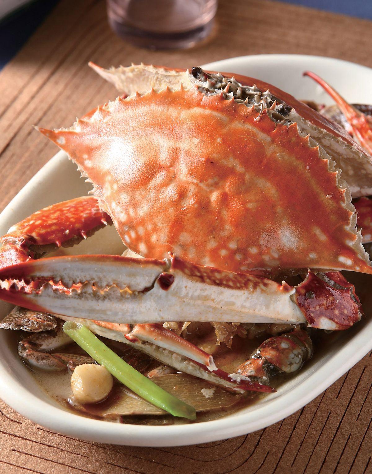 食譜:麻油煮螃蟹