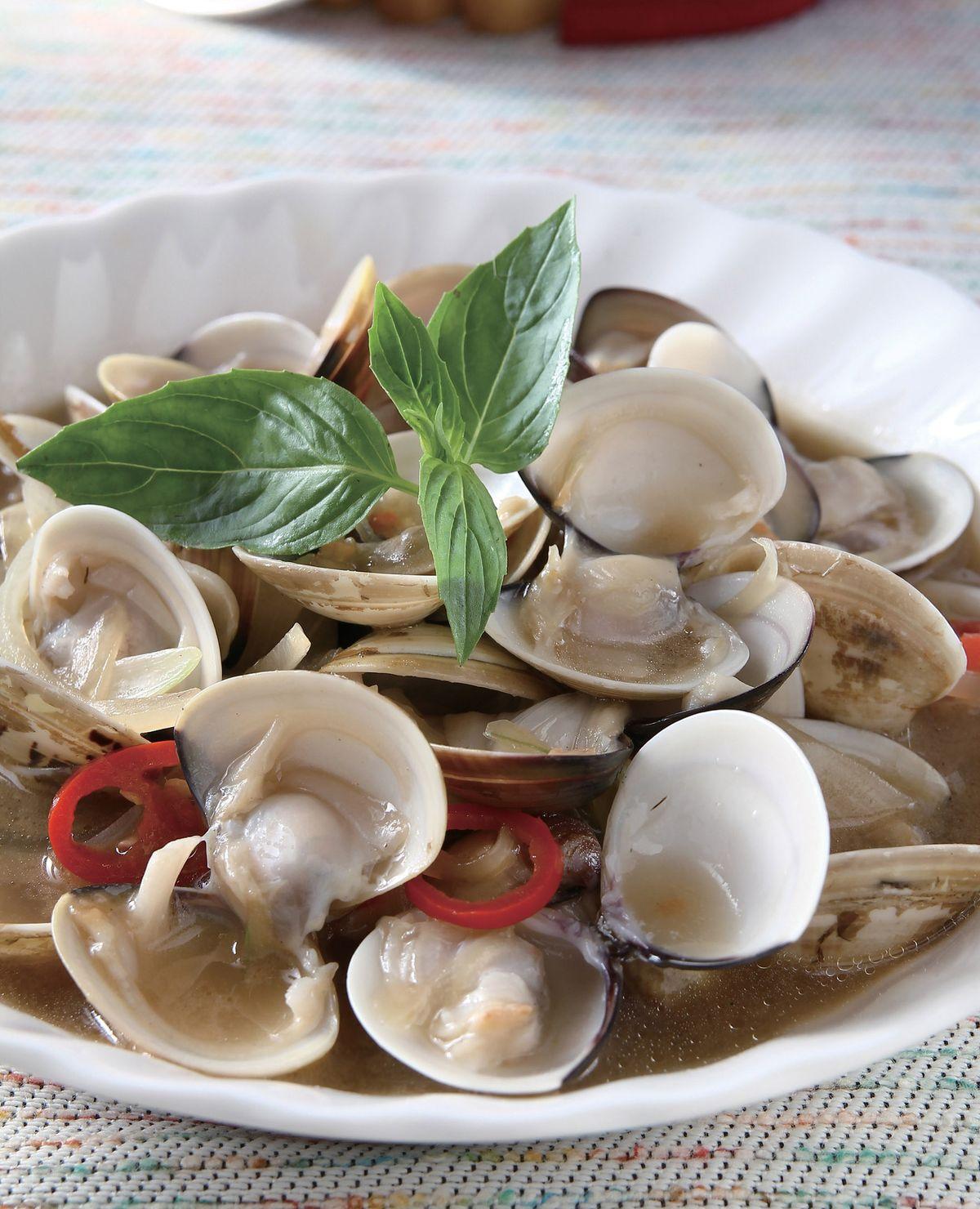 食譜:洋蔥炒蛤蜊