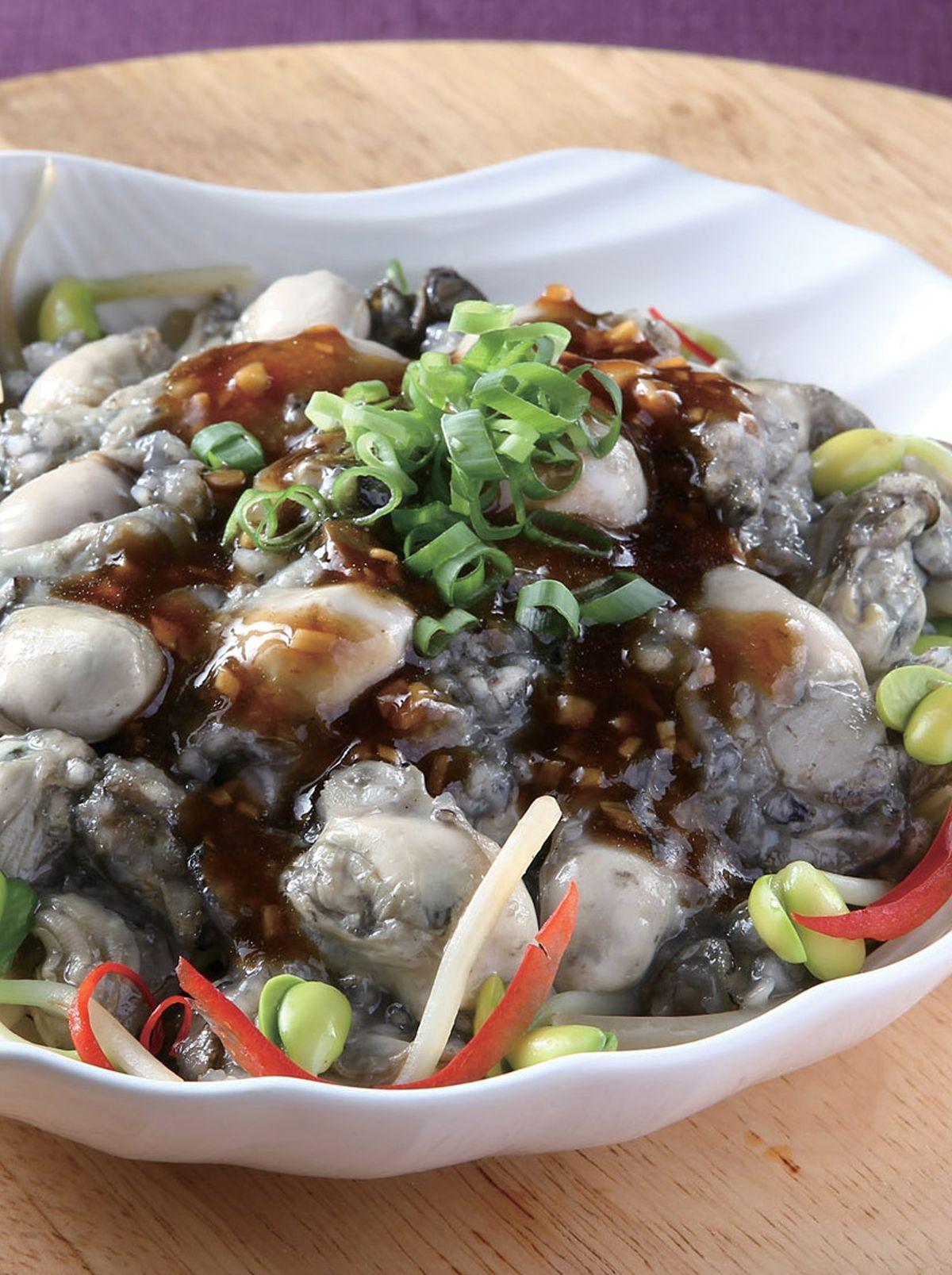 食譜:蒜蓉淋鮮蚵
