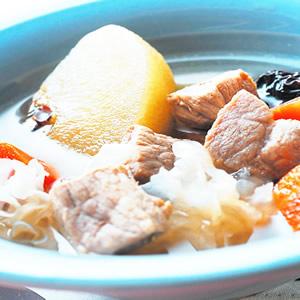 蘋果銀耳瘦肉湯(1)