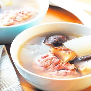 香菇龍骨湯