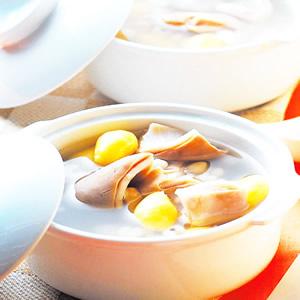白果薏米豬肚湯