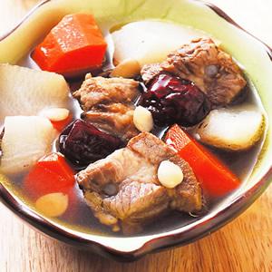 蘿蔔排骨湯(3)