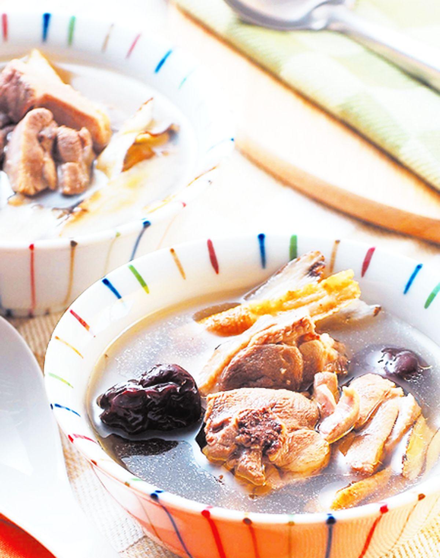 食譜:黨蔘黃耆燉雞湯