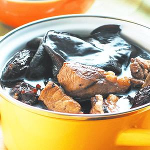 木耳田七煲瘦肉湯