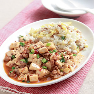 麻婆豆腐蛋炒飯
