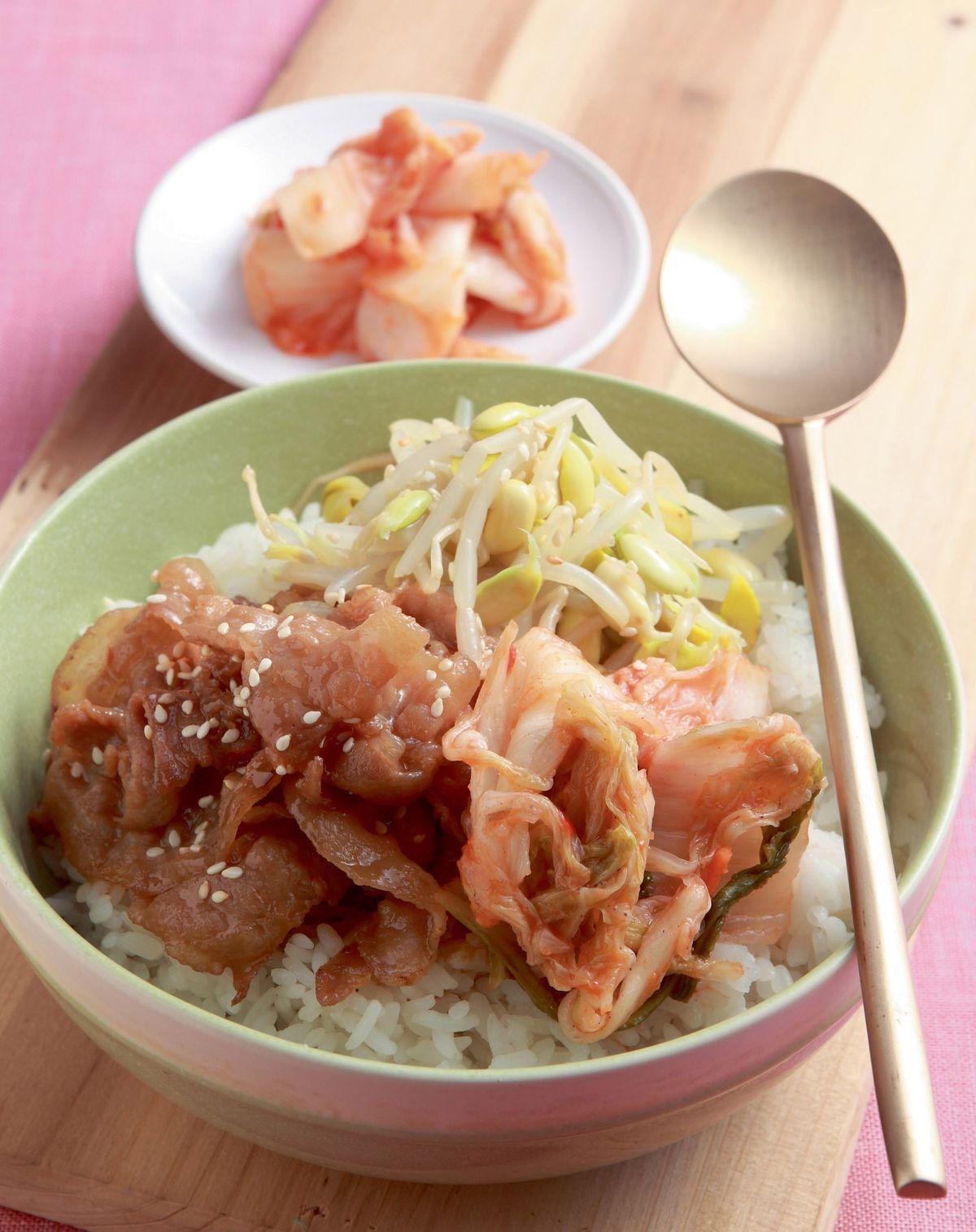 食譜:韓式拌飯