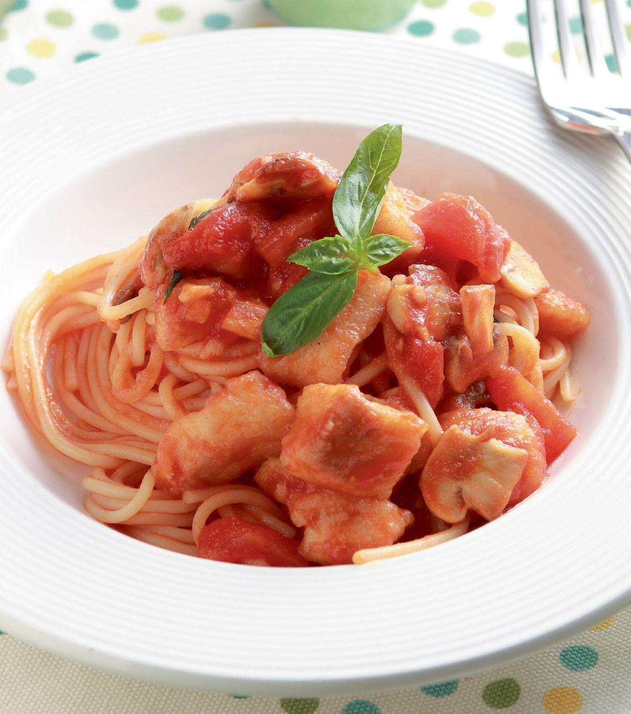 食譜:番茄義大利麵