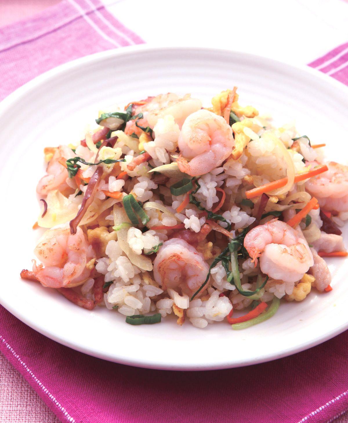 食譜:什錦蛋炒飯(1)