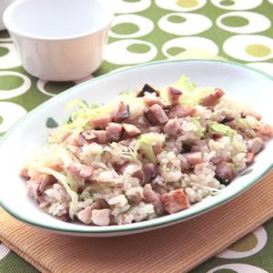 鹹魚雞粒炒飯(2)