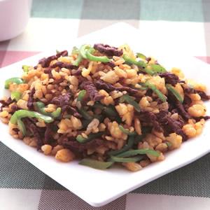青椒牛肉炒飯(4)