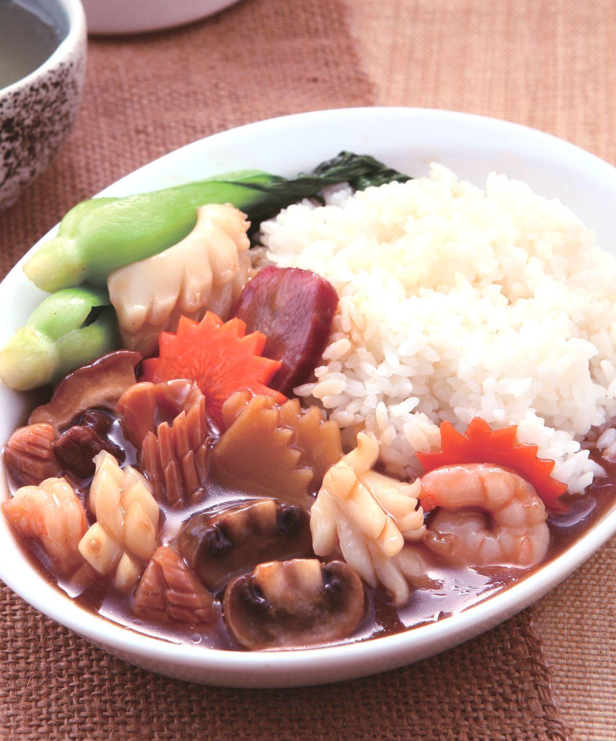 食譜:廣州燴飯(1)