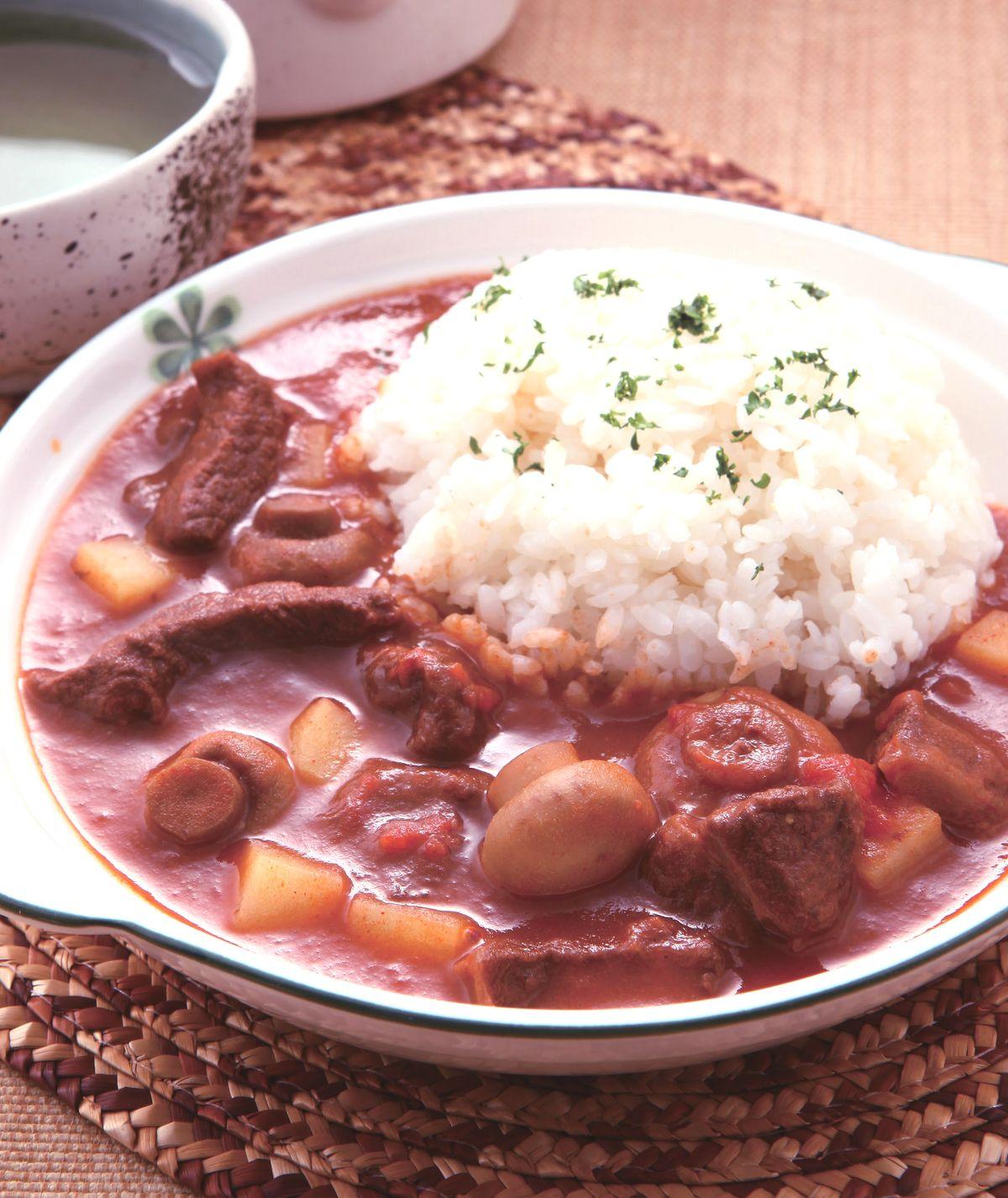 食譜:匈牙利牛肉燴飯(1)