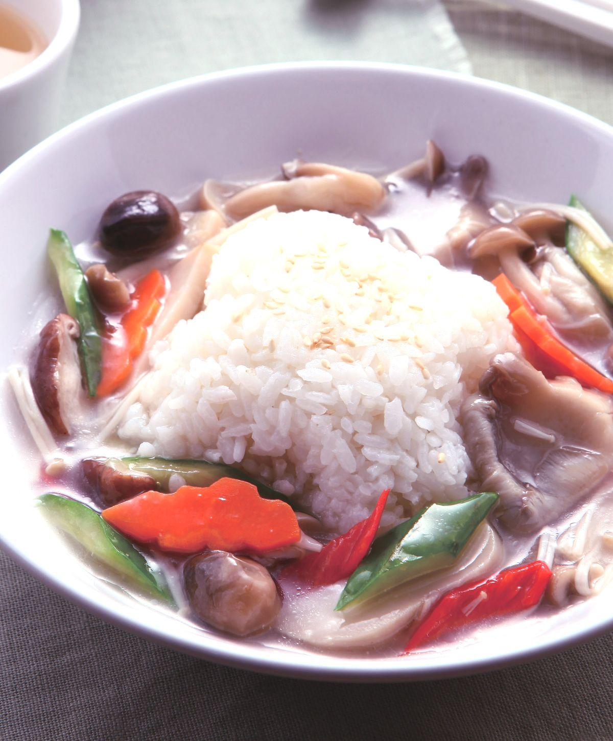 食譜:鮮菇蔬燴飯