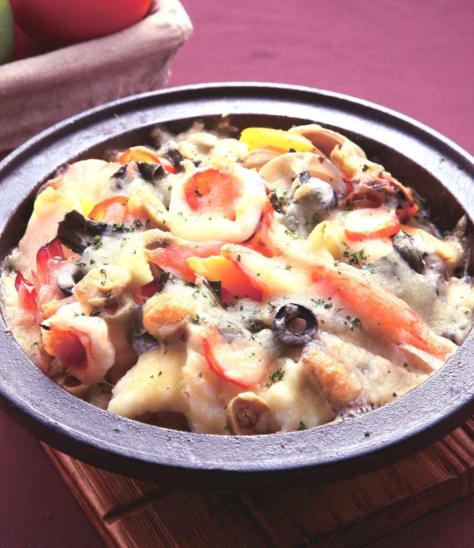食譜:西西里海鮮焗飯(2)