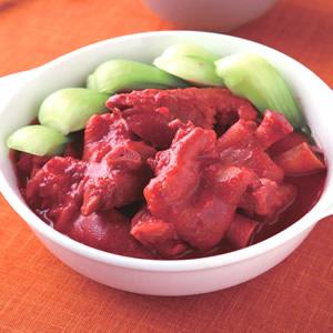 紅麴豬蹄煲