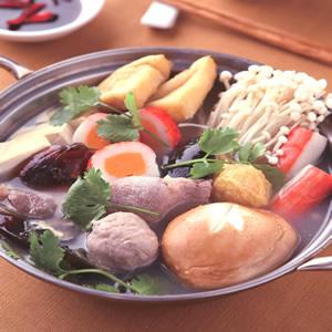 港式香菜皮蛋鍋(1)