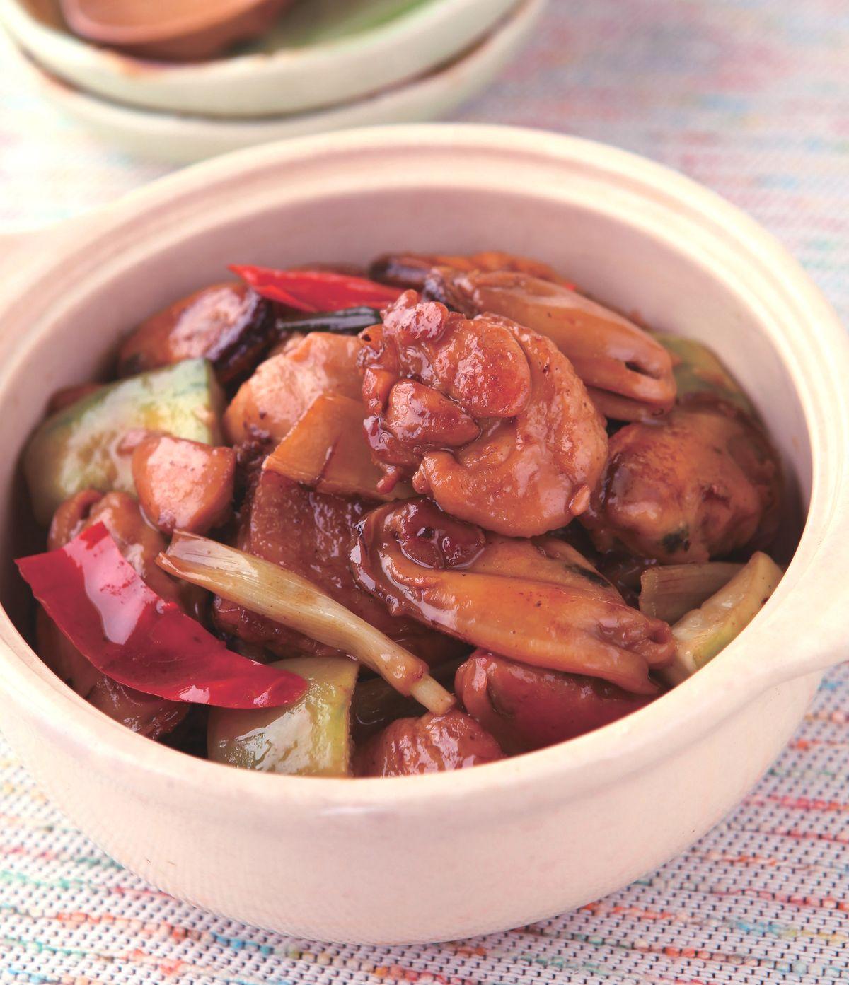 食譜:淡菜砂鍋雞