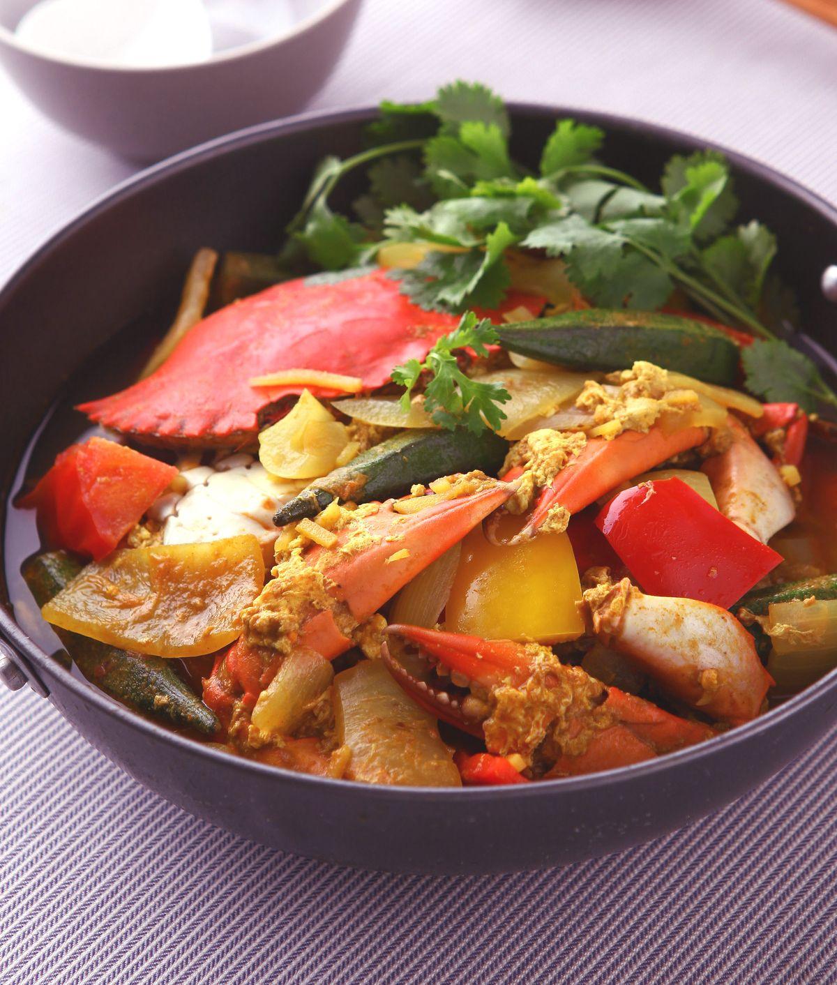 食譜:咖哩螃蟹(3)
