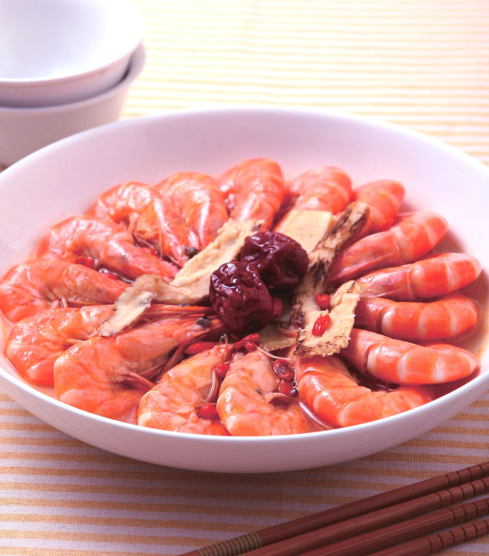 食譜:當歸薑汁蝦