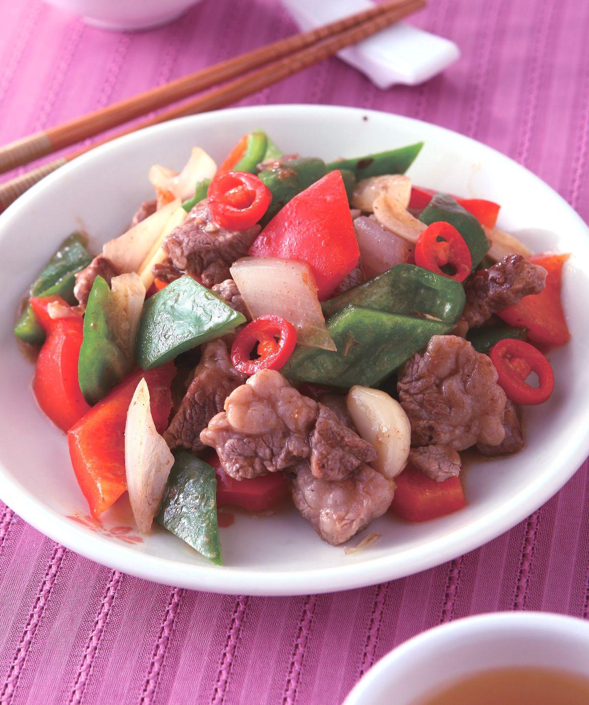 食譜:沙茶炒牛肉