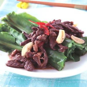牛肉炒山蘇