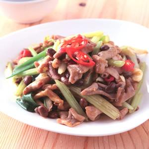 芹菜炒鴨腸(2)