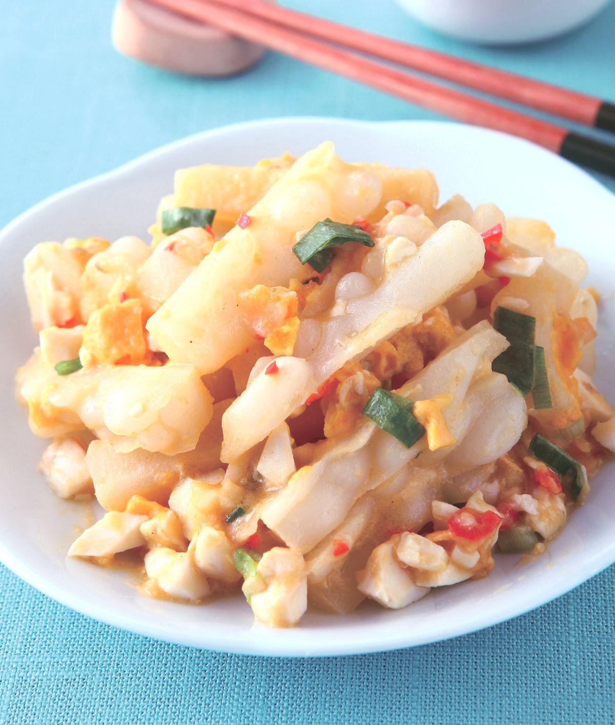 食譜:苦瓜炒鹹蛋(1)