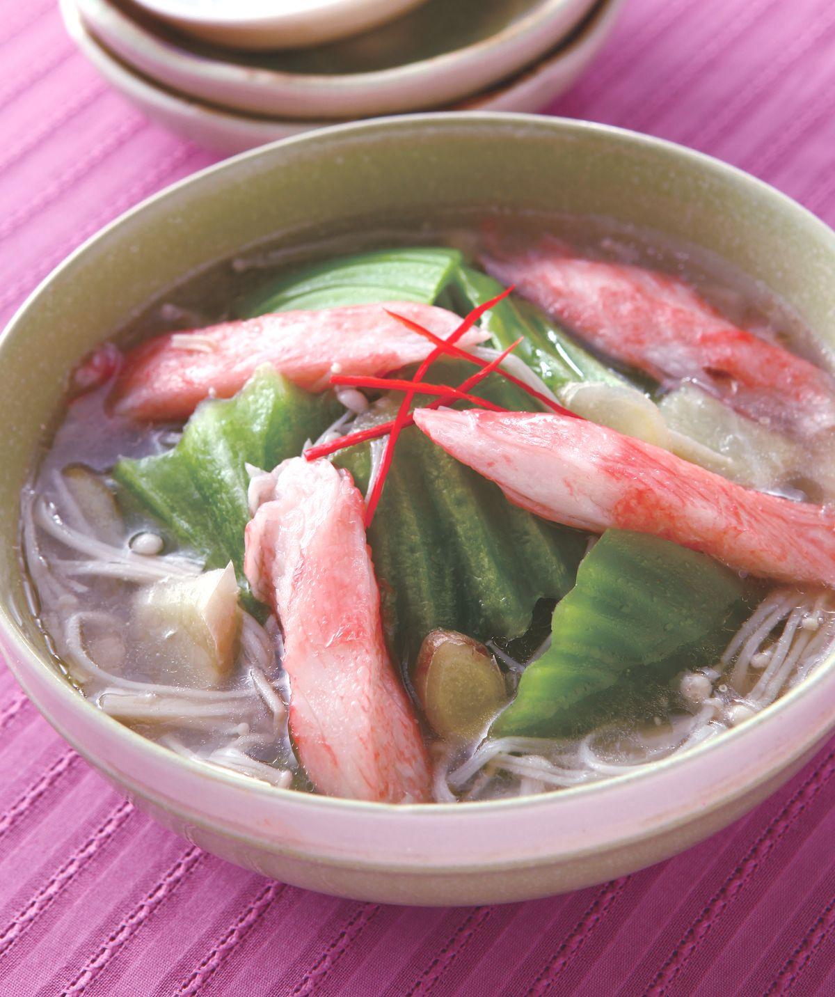 食譜:雞汁燴芥菜(1)