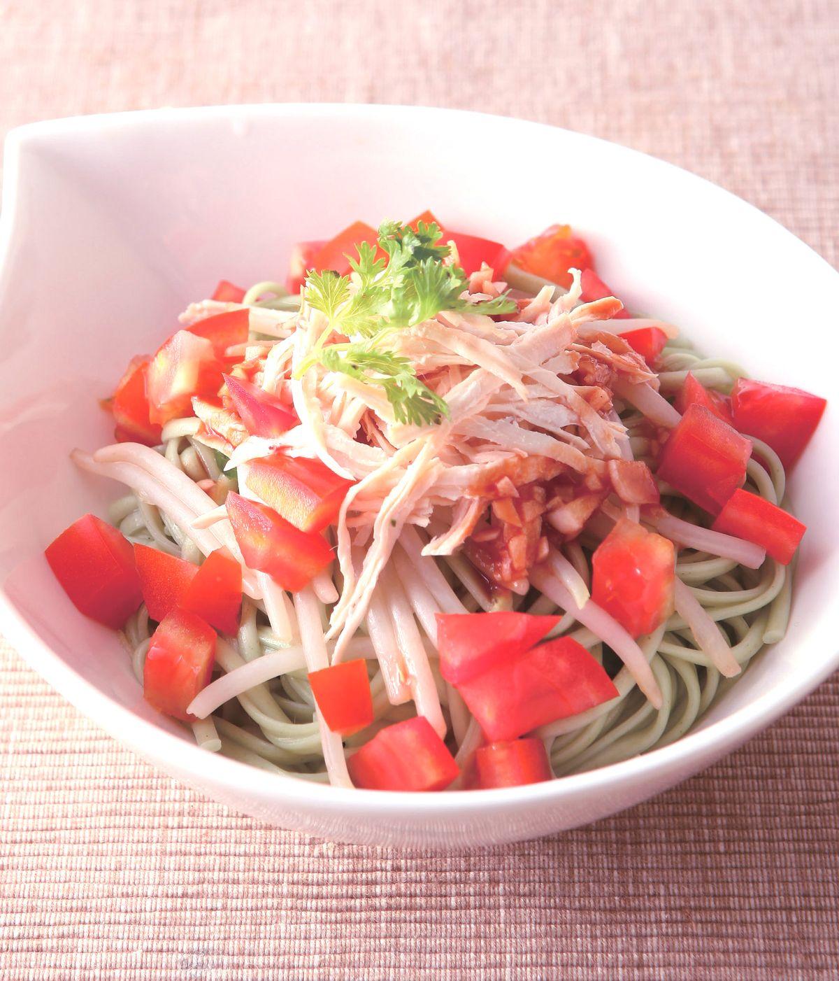 食譜:茄汁涼麵