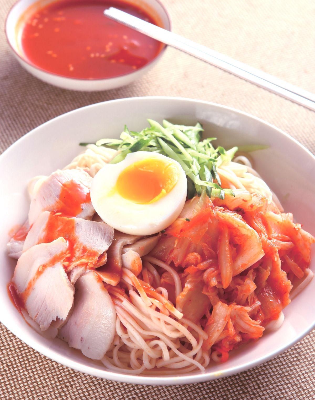 食譜:韓式泡菜涼麵