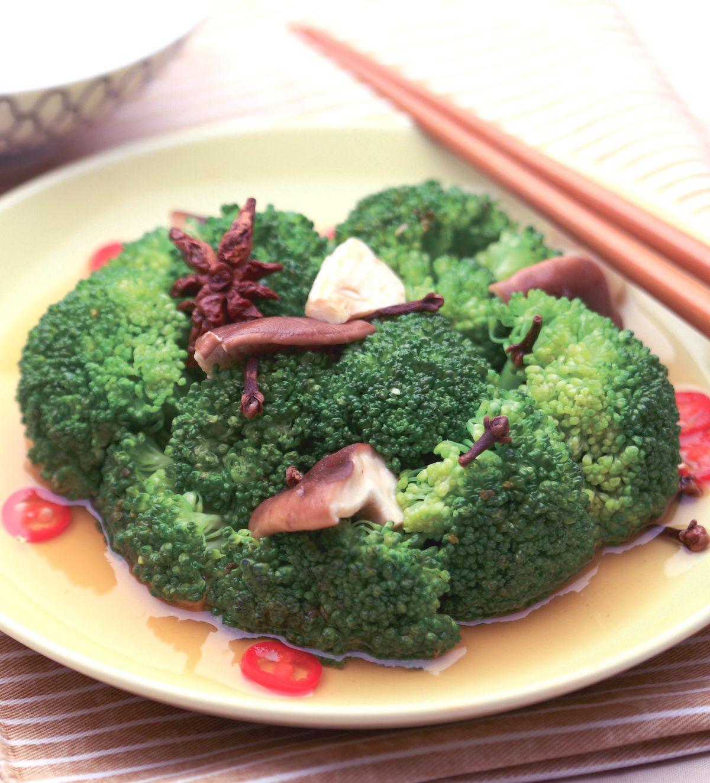 食譜:蒜香綠花椰菜