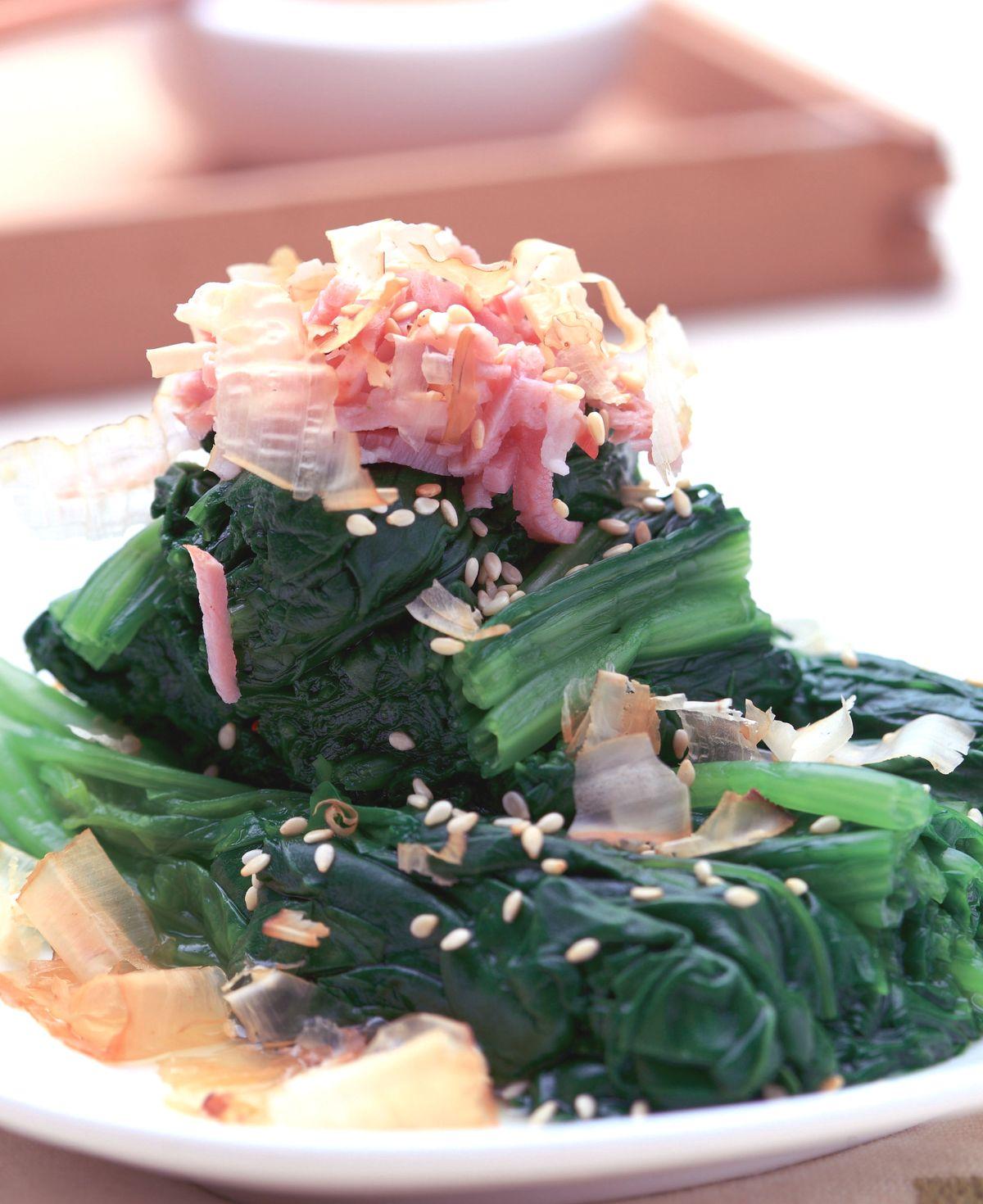 食譜:味噌波菜