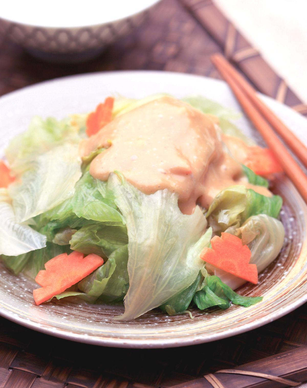 食譜:蜂蜜西生菜