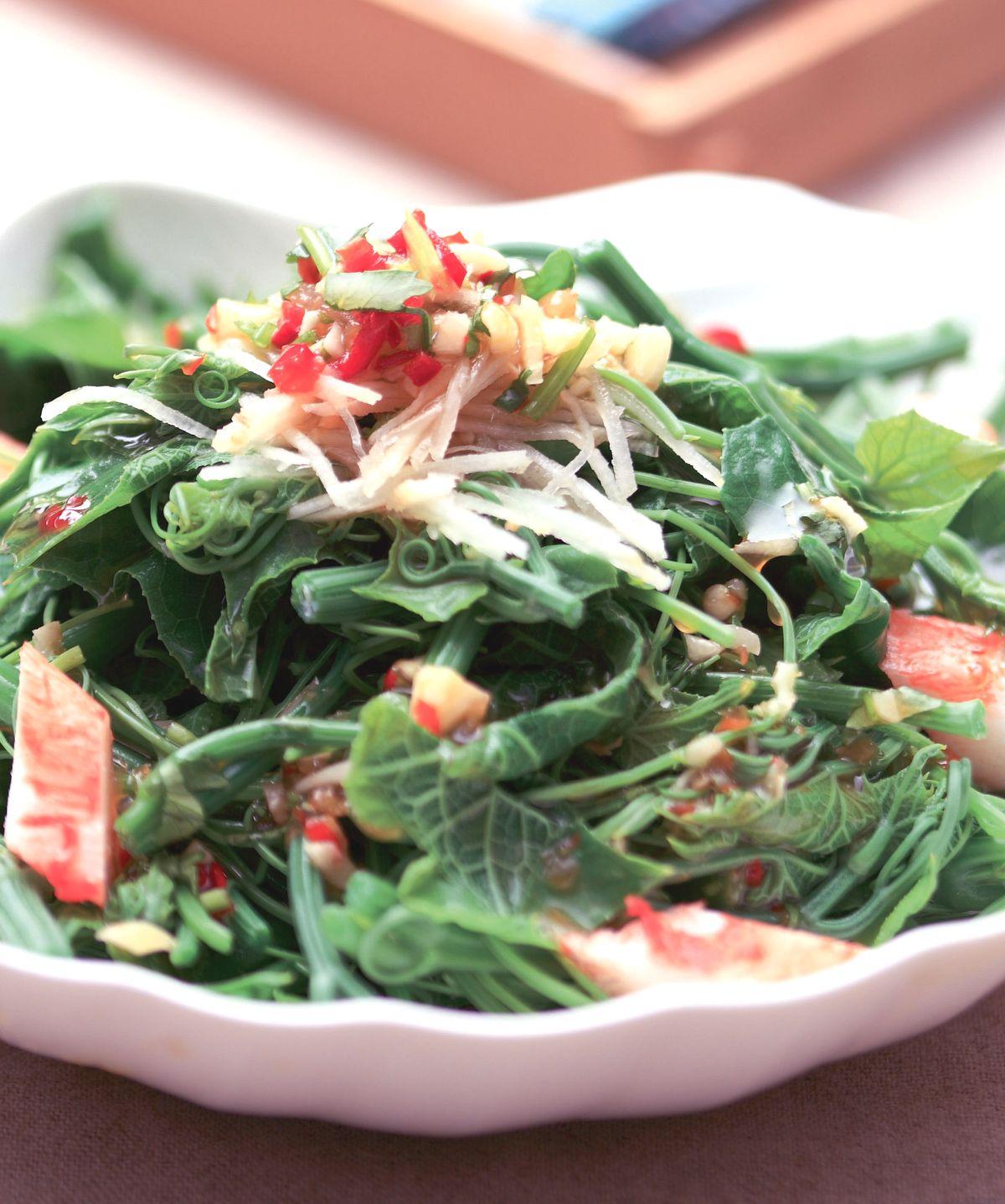 食譜:泰式龍鬚菜