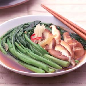 香菇燴芥藍(1)