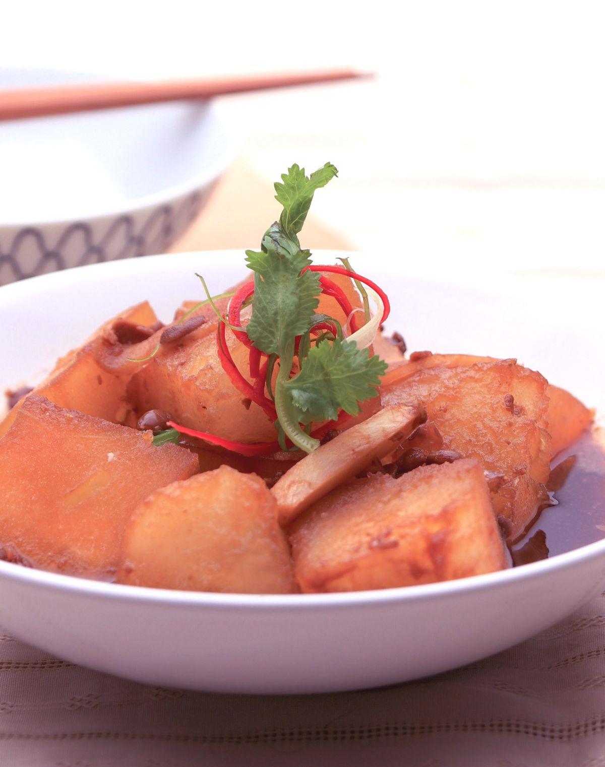 食譜:豆醬滷冬瓜(1)