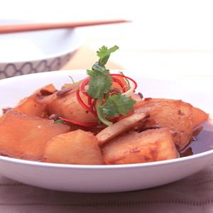 豆醬滷冬瓜(1)