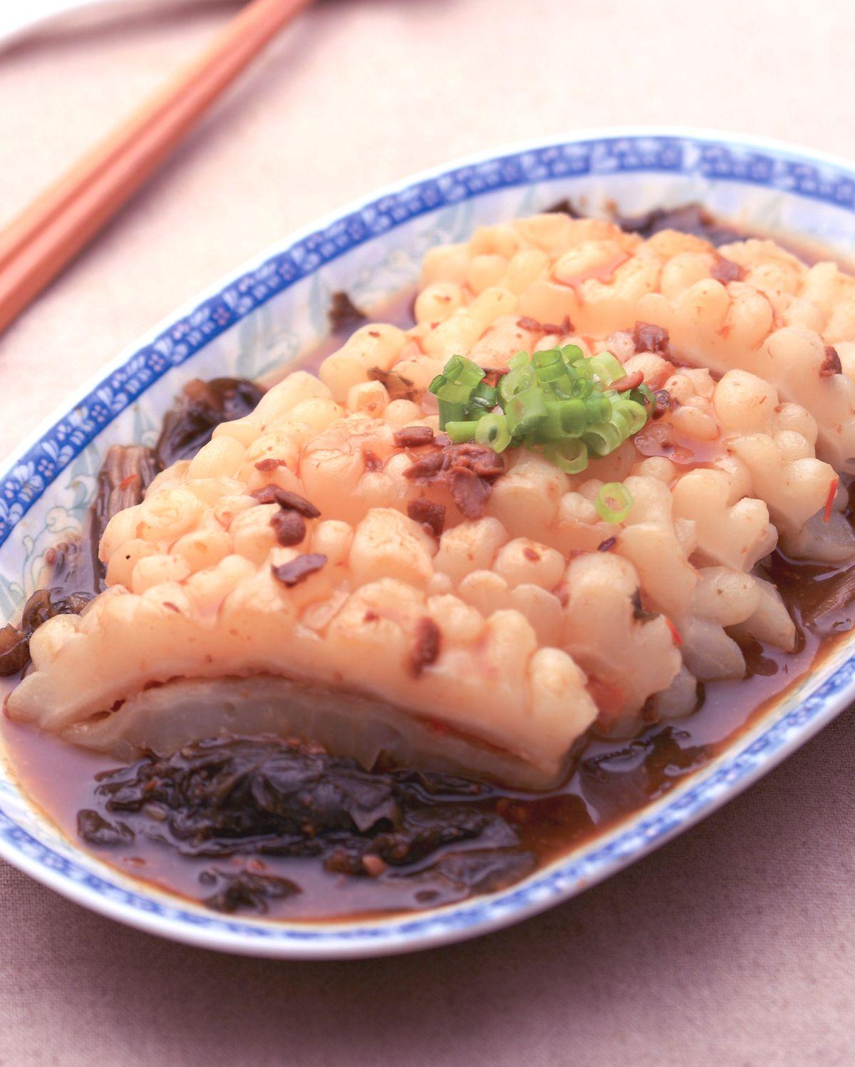 食譜:梅乾菜滷苦瓜