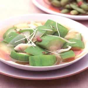 白甘蔗滷絲瓜