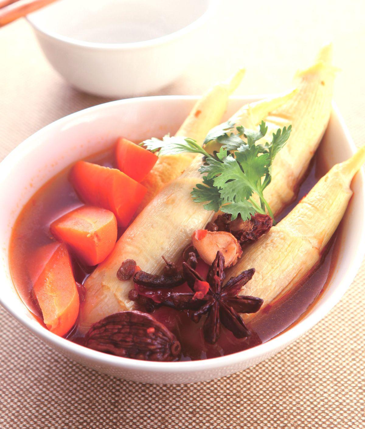 食譜:川味筊白筍