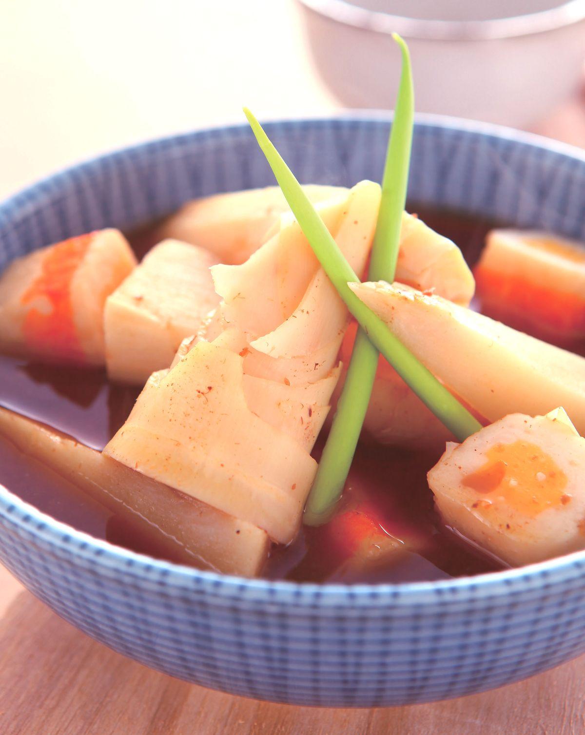 食譜:沙茶滷竹筍