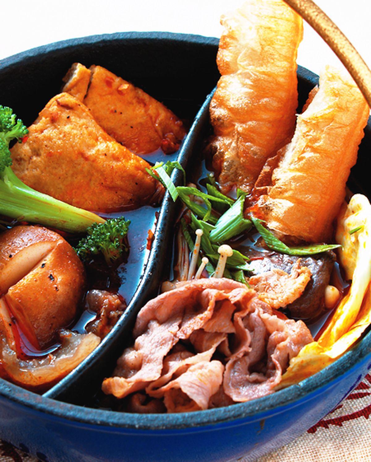 食譜:麻辣臭豆腐鍋