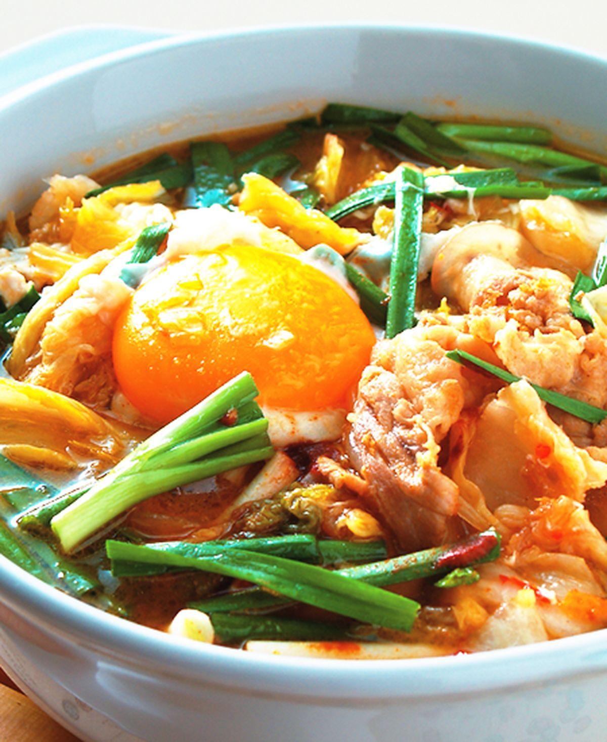食譜:泡菜豆腐豬肉鍋