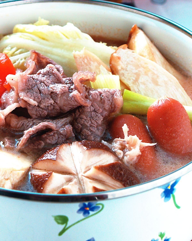 食譜:蕃茄牛肉鍋