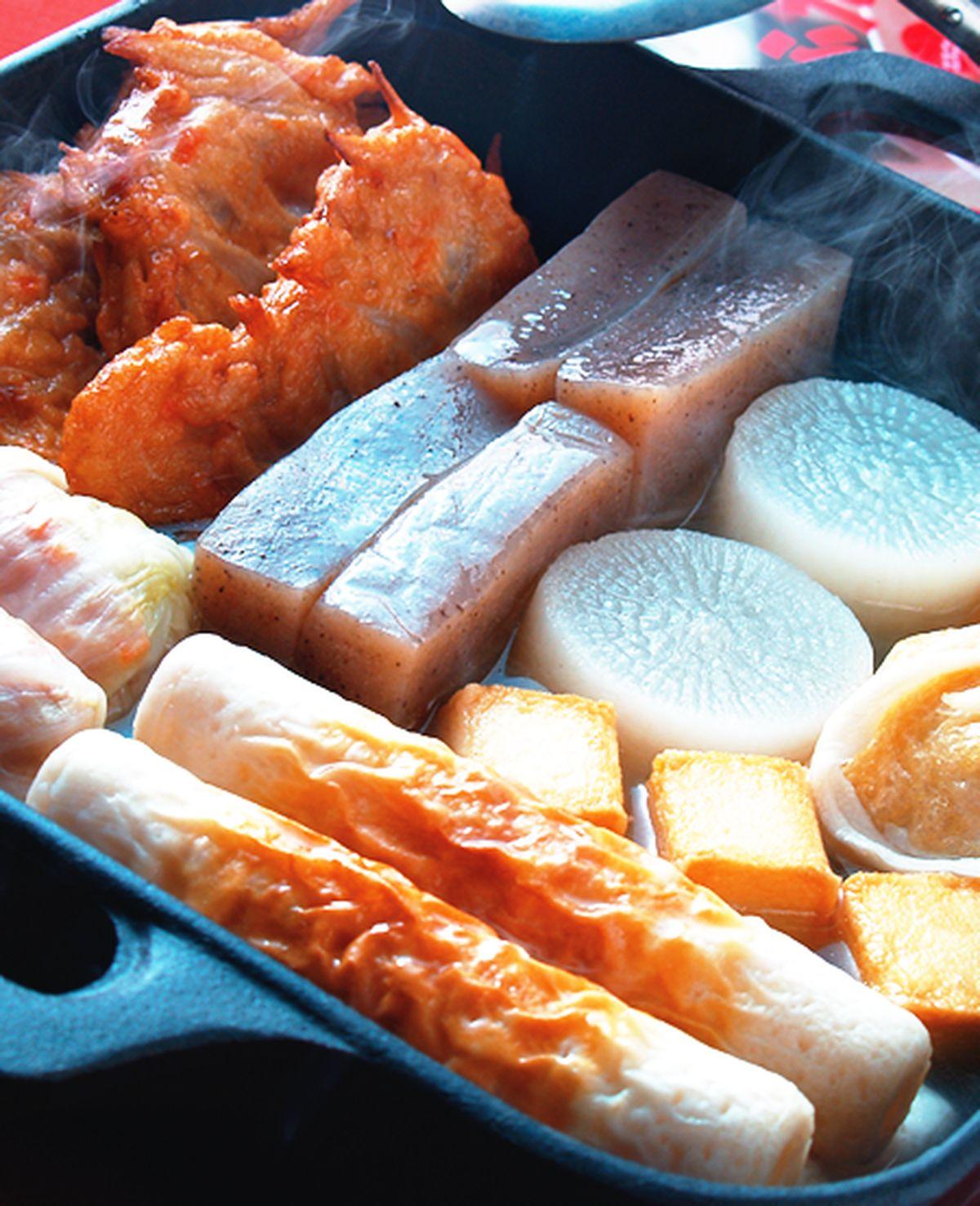 食譜:關東煮